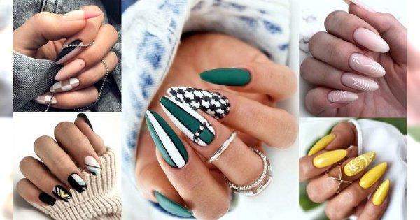 Manicure 2019 - top 35 stylizacji, jak z najlepszych salonów