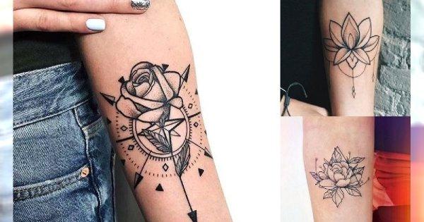 30 zachwycających i kobiecych pomysłów na tatuaż w okolicy ręki [galeria]