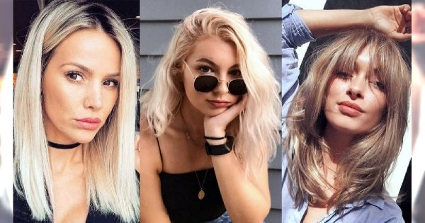 Przegląd półdługich fryzur dla blondynek! AŻ 30 pomysłów