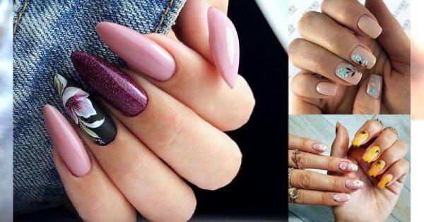 30 propozycji na prześliczny kwiatowy manicure! [GALERIA]