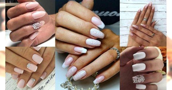 30 pomysłów na ślubny manicure - galeria najpiękniejszych zdobień