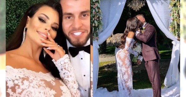 Justyna Gradek pokazała zdjęcia z bajecznego ślubu! Zobaczcie, w jakiej sukience bawiła się na weselu