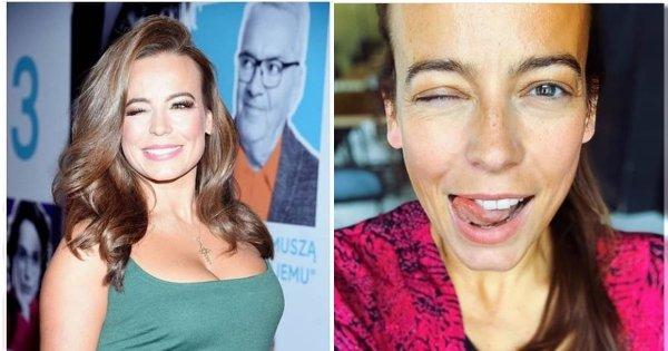 Anna Mucha bez tapety! Nikt mi nie powie, że kobieta wygląda najpiękniej bez makijażu - piszą fani na Instagramie