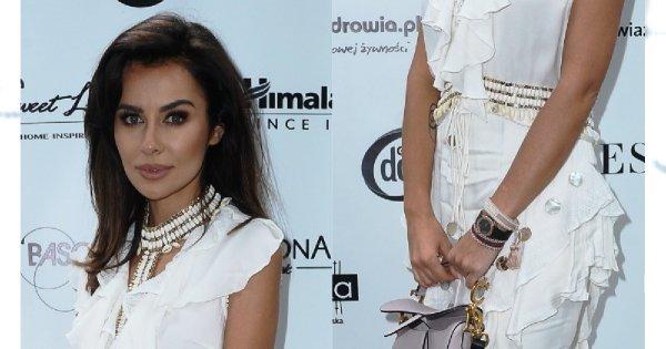 Natalia Siwiec tonie w białych falbankach na gali Influencer's TOP 2019. Jej torebka kosztowała fortunę!