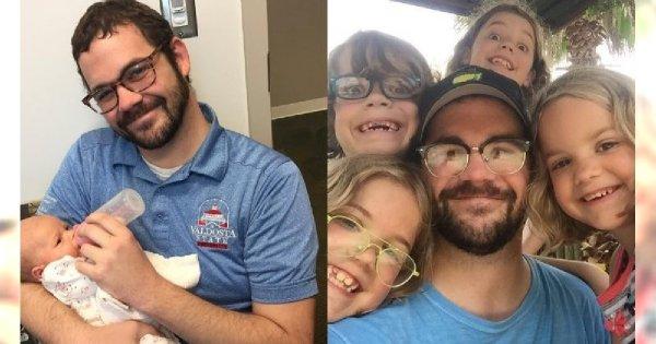 Ten tata czwórki dzieci dowiedział się z Facebooka, że jego żona ma kilku kochanków i stałego chłopaka...