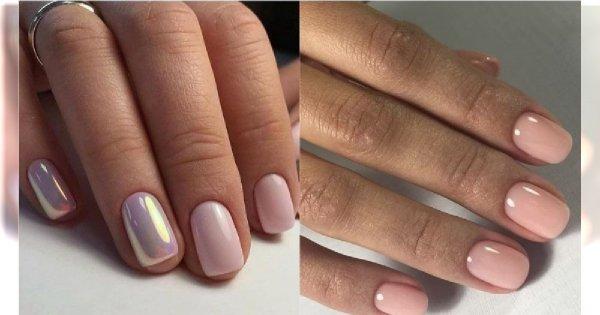 Nude manicure - elegancka stylizacja paznokci w neutralnych kolorach [trendy 2019]