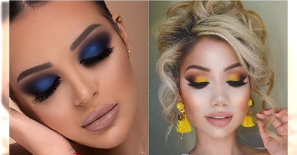 Makijaż wieczorowy w kolorach sezonu [trendy wiosna-lato 2019]