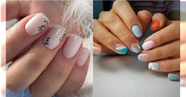 Modny manicure dla krótkich paznokci - stylowe zdobienia idealne na wiosnę i lato 2019