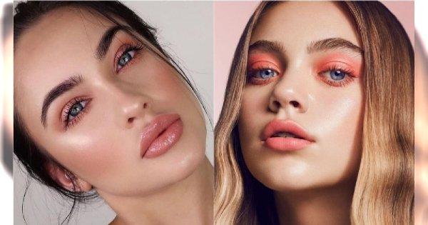 Modny makijaż 2019: Peachy MakeUp - nowy trend w makijażu, który podbija Instagram!