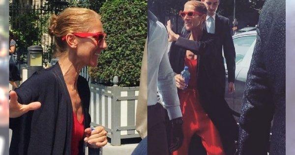 Przerzedzone włosy i żylasta szyja - na tych zdjęciach 51-letnia Celine Dion wygląda jak STARUSZKA!