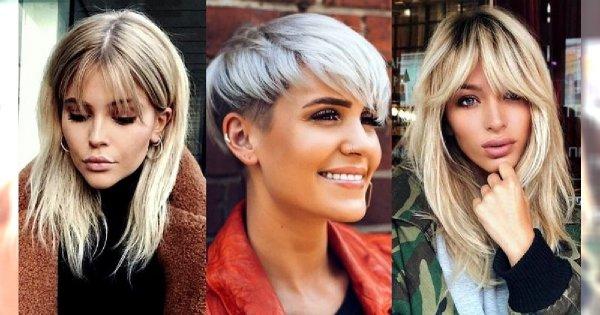 20 pomysłów na fryzurę z ultrakobiecym dodatkiem w postaci grzywki [GALERIA]