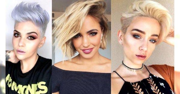 Krótkie fryzury na lato - 20 zjawiskowych cięć dla kobiet o jasnych włosach!