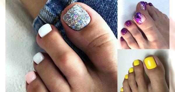 21 rewelacyjnych propozycji na letni pedicure - galeria stylowych zdobień