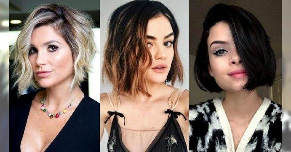 Włosy w pół szyi – galeria kobiecych trendów na lato 2019!