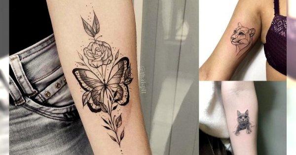 Animal tattoo - galeria niesamowitych wzorów dla dziewczyn