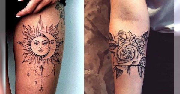 Galeria kobiecego tatuażu - 25 nowoczesnych wzorów
