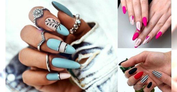 30 stylizacji paznokci - galeria manicure na lato 2019!