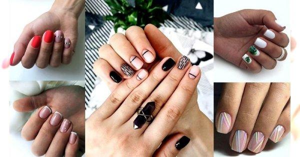 Manicure dla krótkich paznokci - 40 modnych zdobień