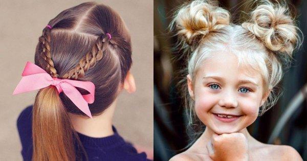 Urocze fryzury dla dziewczynek - 20 hitów na sezon 2019/2020