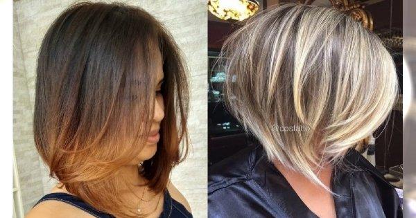 Fryzury średnie 2019. Najpiękniejsze cięcia dla włosów do ramion na lato