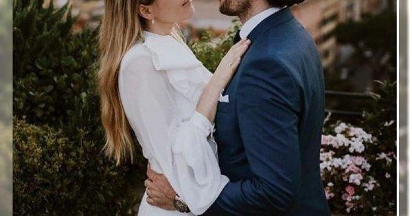 Gwiazda seriali wzięła ślub! Przepiękna uroczystość, przystojny mąż. A suknia? Prawdziwa PEREŁKA!