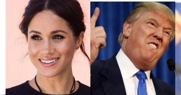 """Donald Trump o Meghan Markle: """"Nie wiedziałem, że jest taka PASKUDNA"""""""