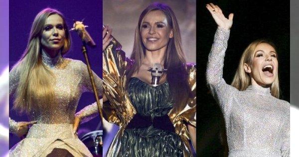 5 wymyślnych stylizacji Dody na koncercie w Krakowie. Każda oryginalna, ale w ostatniej... Prawie nie zmieściła się na scenie!
