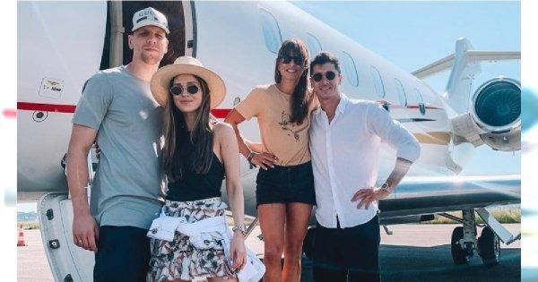 """Szczęśni i Lewandowscy lecą razem na wakacje. Marina: """"To był bardzo pracowity okres dla nas wszystkich"""""""