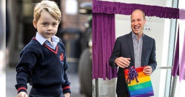"""Książę William z tęczą robi ukłon w stronę LGBT: """"Nie przejąłbym się, gdyby moje dzieci były homoseksualne""""!"""