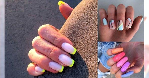25 stylizacji paznokci - galeria manicure na lato i nie tylko!