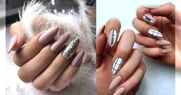 Nude manicure - galeria najlepszych pomysłów z sieci