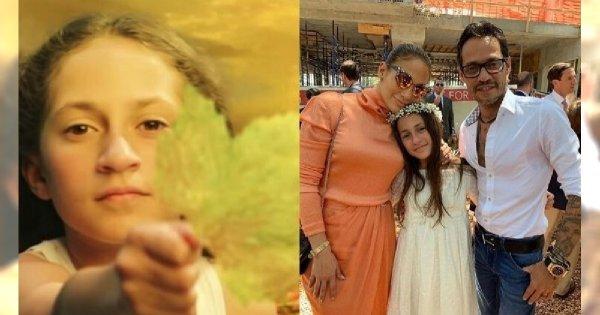 Jak ona urosła! 11-letnia córka Jennifer Lopez ma naturalną urodę i piękny głos. Czy pójdzie w ślady mamy?