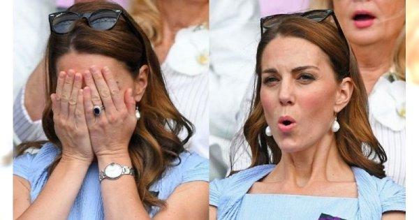 Kate Middleton ostatniego dnia na Wimbledonie: sukienka - piękna, ale to miny księżnej - bezcenne!