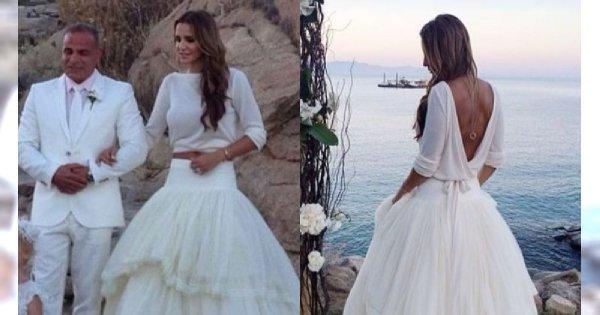 Sara Boruc obchodziła 5. rocznicę ślubu. Suknia ślubna piękna, ale buty to PRAWDZIWY SZTOS!