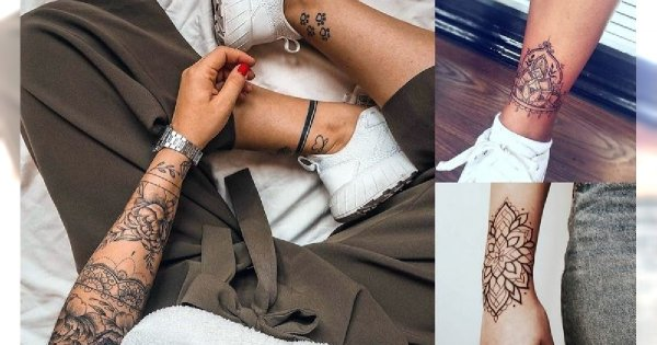 Kobiece tatuaże - 30 ślicznych i unikatowych wzorów