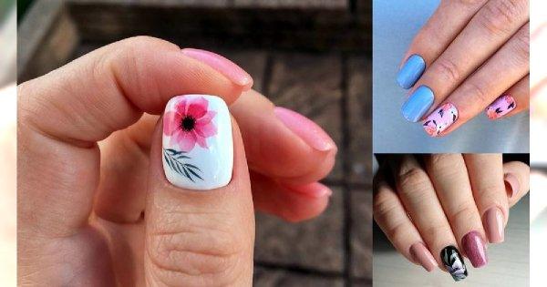 20 pomysłów na śliczny kwiatowy manicure! [GALERIA]