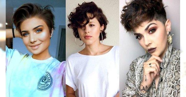 Krótkie fryzury dla brunetek i szatynek - te cięcia to HIT 2019/2020