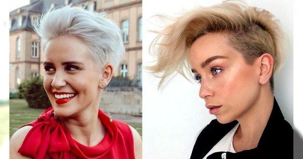 Krótkie cięcie - 20 nowoczesnych fryzur pixie i undercut