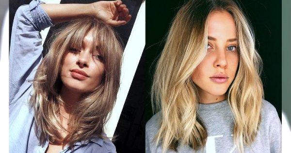 Półdługie fryzury dla blondynek - 25 najpiękniejszych cięć z sieci