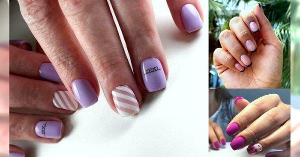 Manicure dla krótkich paznokci - galeria nawoczesnych stylizacji