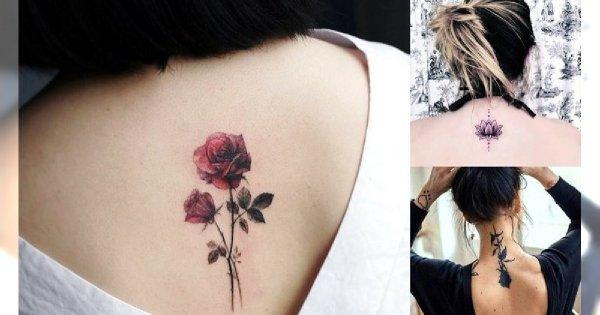 Tatuaż na karku - 20 najpiękniejszych wzorów z sieci