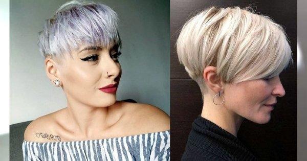 Krótkie cięcie - 21 modnych fryzur pixie i undercut