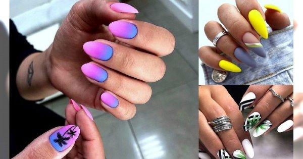 30 stylizacji paznokci - galeria modnych zdobień na lato