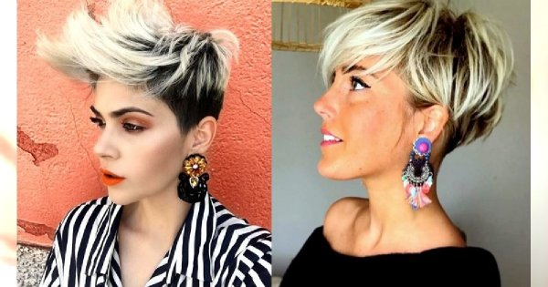Odmładzające fryzury krótkie - cięcia undercut, pixie, z grzywką i wiele innych