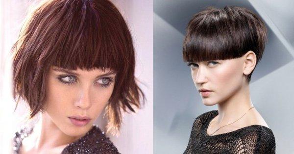 Najmodniejsze fryzury z grzywką dla krótkich i długich włosów