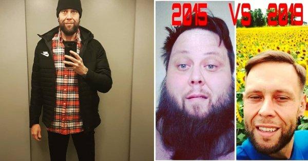 """Jak wygląda skóra po zrzuceniu 160 kg? Big Boy z """"Gogglebox"""" pokazał nagie zdjęcie!"""