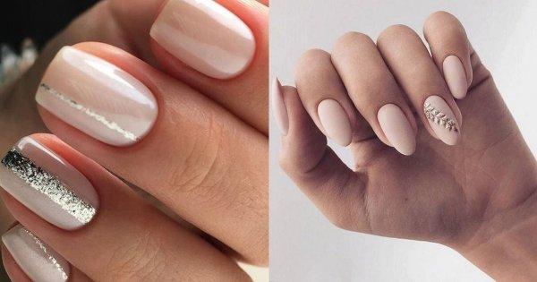 Nude manicure w najpiękniejszych wydaniach. Te wzory paznokci są naprawdę subtelne