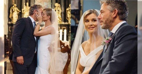 Joanna Krupa obchodzi 1. rocznicę ślubu! Pokazała niepublikowane wcześniej zdjęcia!