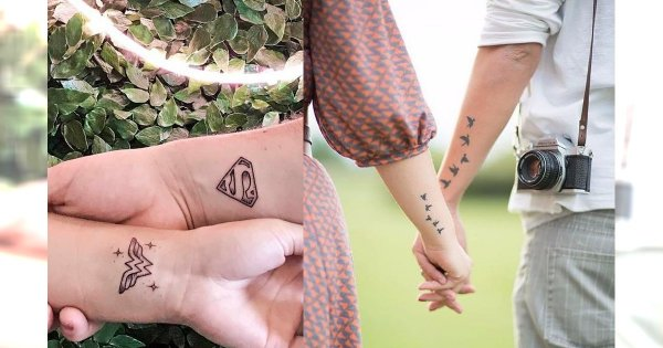 Tatuaże dla par - 25 inspiracji na tatuaże dla zakochanych