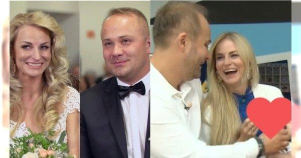"""Anita i Adrian ze """"Ślubu od pierwszego wejrzenia"""" pokazali 2-miesięcznego synka w """"DD TVN""""! """"Jesteśmy jeszcze bardziej szczęśliwi niż wcześniej"""""""